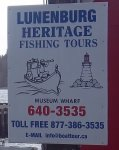 Store front for Lunenburg Heritage Fishing Tours