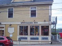 Store front for Spinnaker Inn