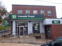 Store front for TD Canada Trust